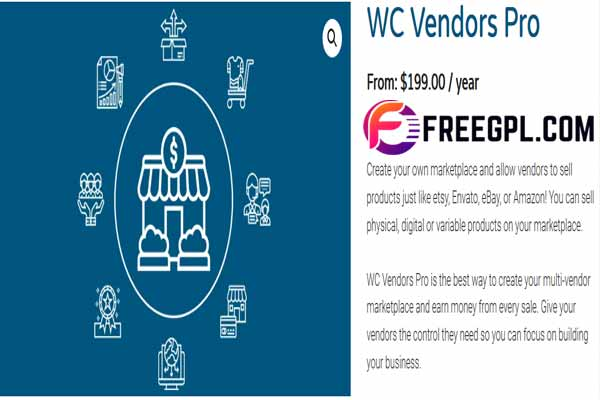 WC Vendors Pro Nulled Free Download