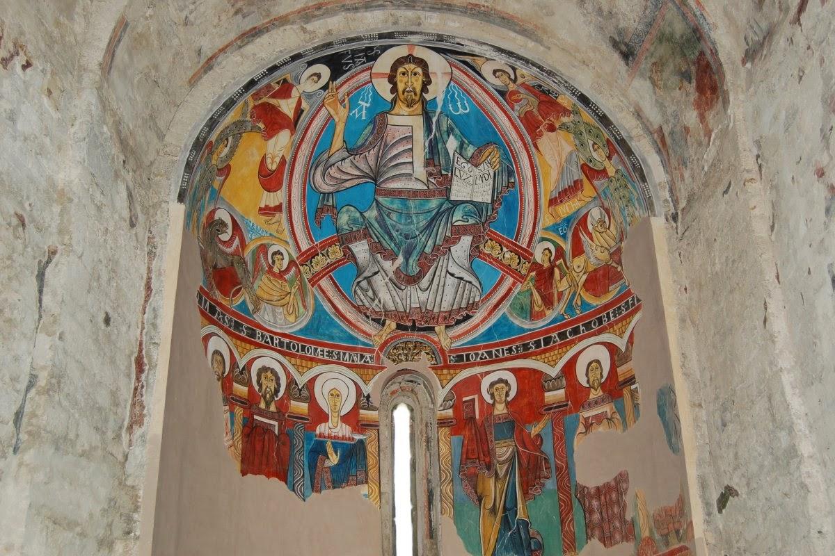 Arte Magistral Frescos De La Iglesia De San Clemente De