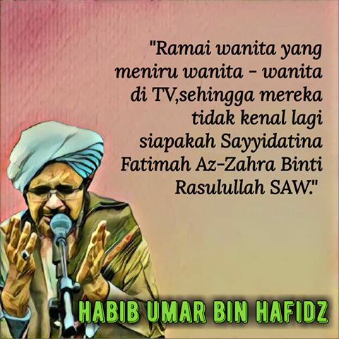 Nasehat Untuk Kaum Wanita Dari Habib Umar Bin Hafidz Meme