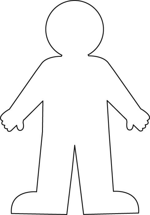 boy outline template - Josemulinohouse