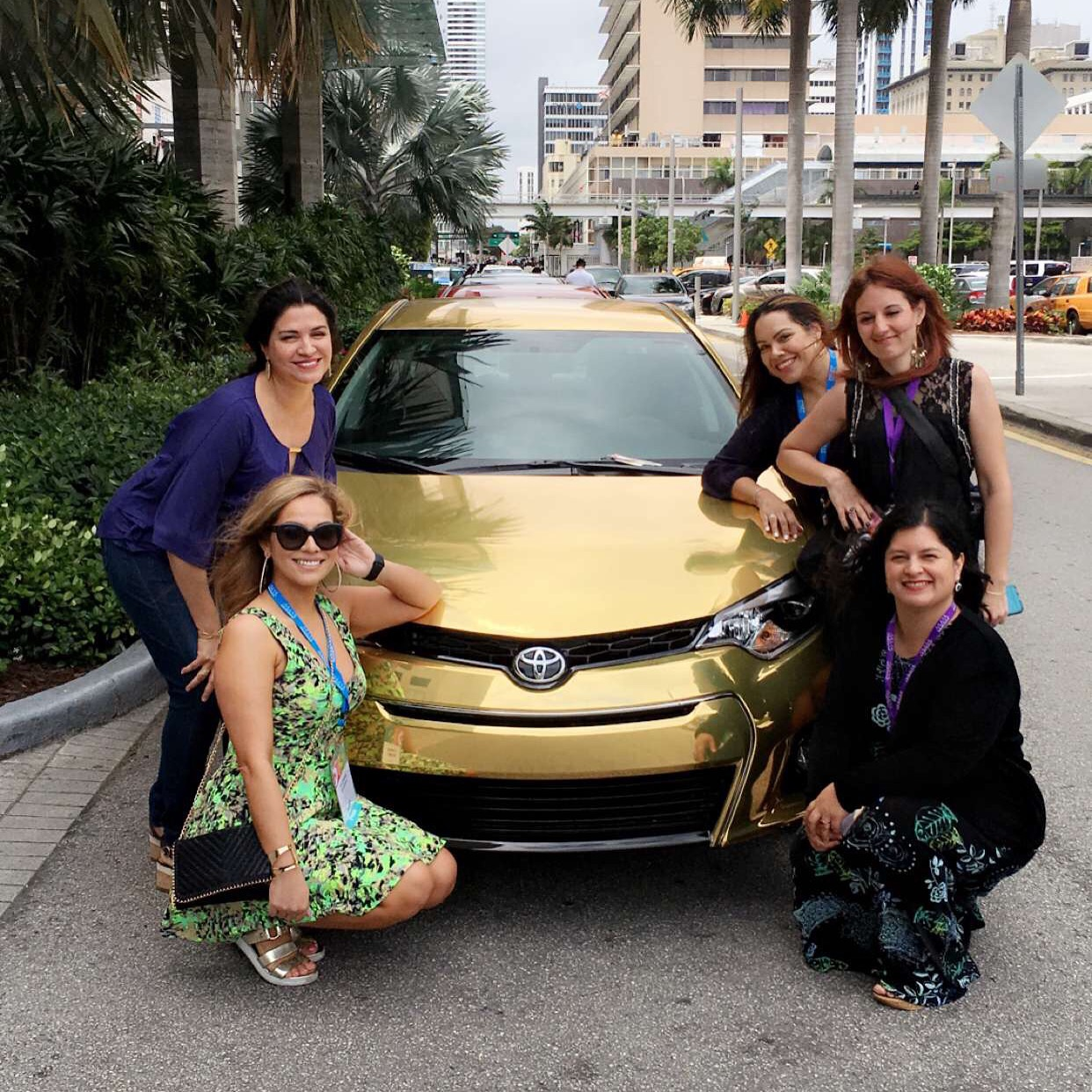 50 Years of Toyota Corolla in Miami