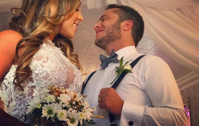 Thammy Miranda se casa com Andressa Ferreira em igreja nos EUA