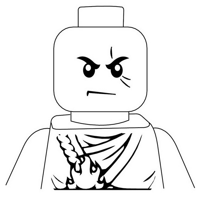 Coloring Pages of LEGO Ninjago Coloring Pages