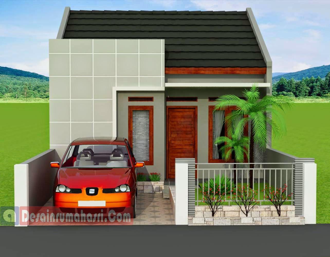 Model Rumah Minimalis Type 78 Wallpaper Dinding