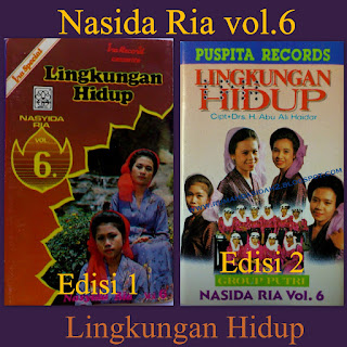 Download Lagu Nasidaria Full Album Vol.6 - Lingkungan Hidup
