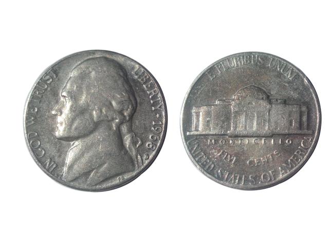 Jefferson Nickel 1976 - Unique bd36
