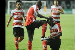 Hasil Pertandingan Liga 1 :  Madura United vs Arema FC Skor Akhir  3-2