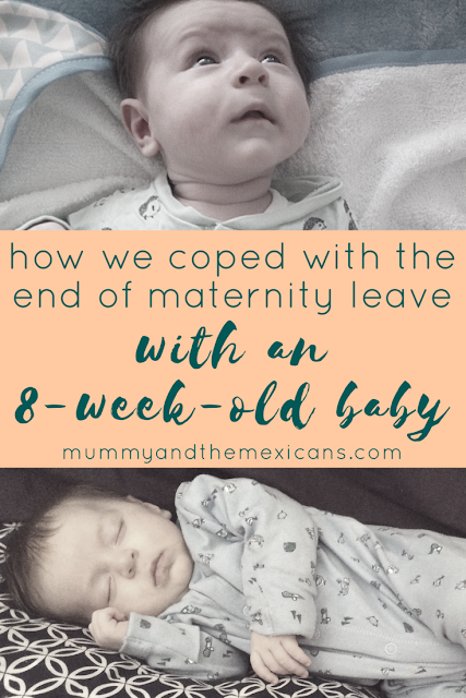 How We Coped With The End Of Maternity Leave With An 8-Week-Old Baby