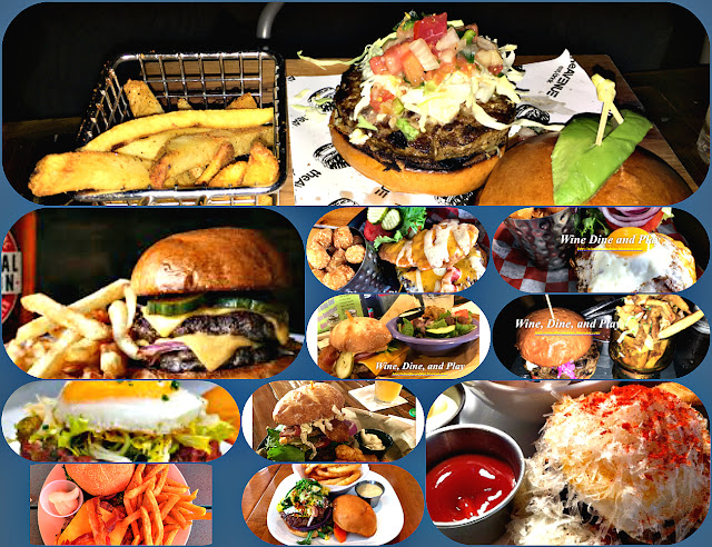 America's top comfort food. Hamburgers from basic to fine dining on Wine Dine And Play