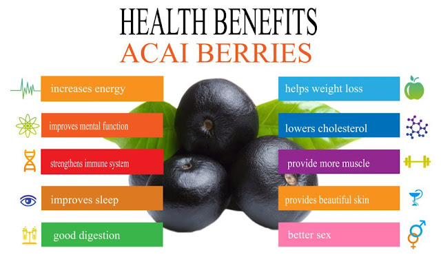 Health Benefits Acai Berries