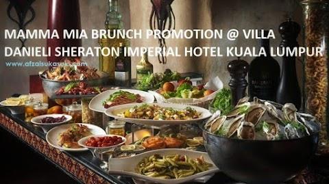 Nikmati Menu Hidangan Itali di Villa Danieli, Sheraton Imperial Hotel Kuala Lumpur