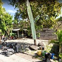 entrée de Samadi Bali Yoga Shala, canggu, North Kuta, Bali