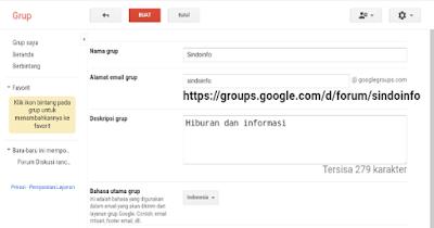 Membuat Group Untuk Blog Seperti Group Pada Facebook