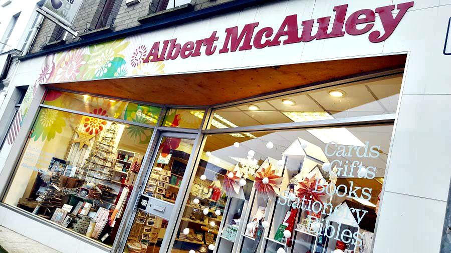 Albert McAuleys, Shop Ballymoney, Ballymoney Chamber of Commerce