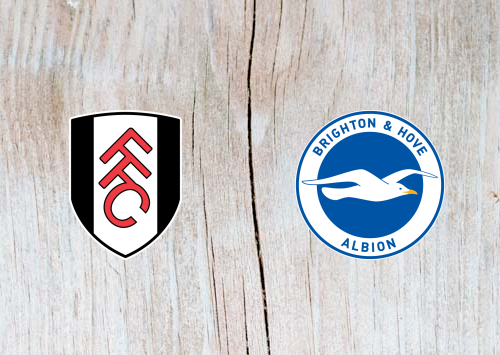 Fulham vs Brighton - Highlights 29 January 2019