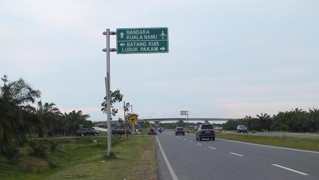 Pintu Tol Parbarakan, Kualanamu