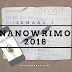 ☂ terceira semana do nanowrimo.