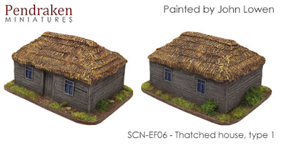 SCN-EF06  Thatched house, type 1 (Size: 65x50mm)