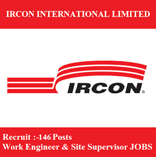 Ircon International Limited, IRCON, New Delhi, Work Engineer, Site Supervisor, Graduation, freejobalert, Sarkari Naukri, Latest Jobs, ircon logo