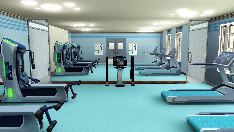 sims 3 gym