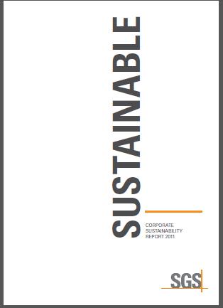 csr-reporting: SGS: Sustainability Report Cone Award