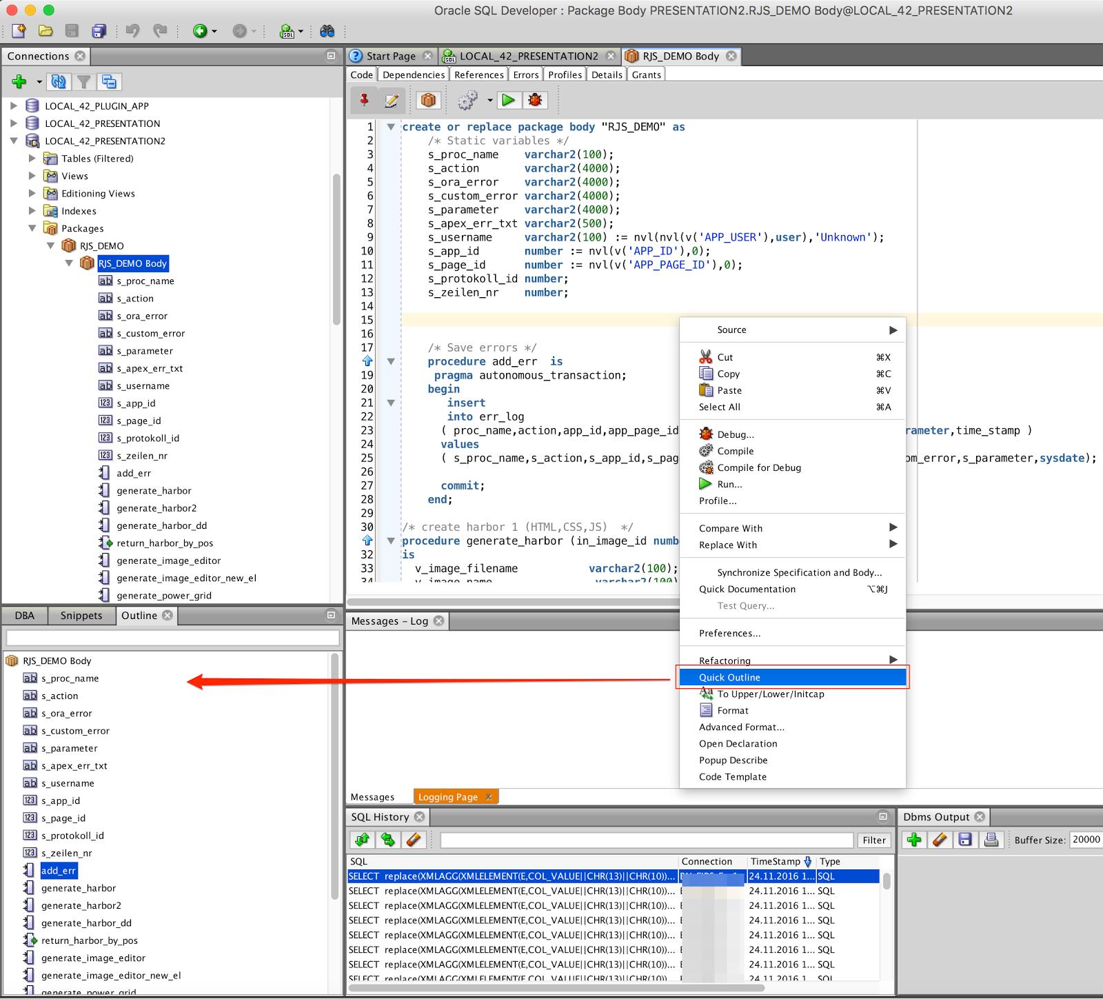 OraNA :: Oracle News Aggregator » SQL