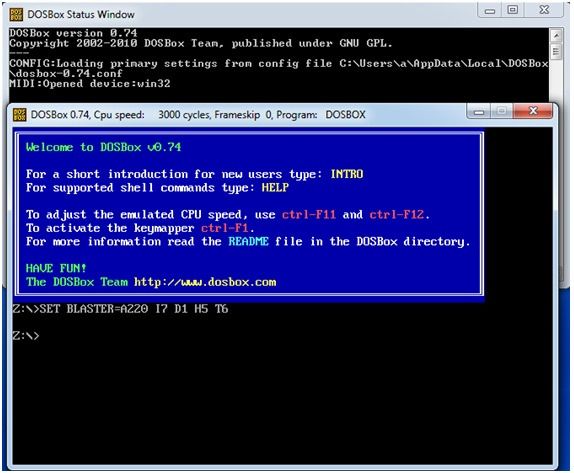 It Really Works   !: MASM/TASM in Windows xp/7/10