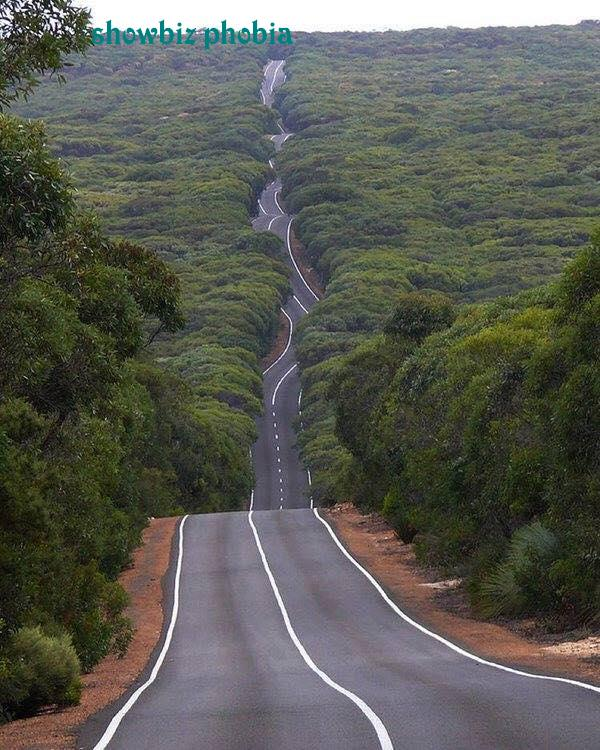 Road on Kangaroo Island, Australia.