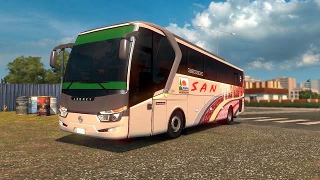 Mod ets2 bus Legacy SR1 By SPH