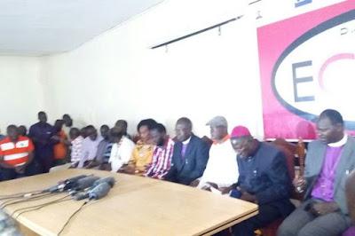 Nyanza Religious leaders. PHOTO   Courtesy
