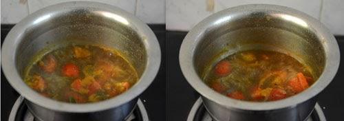 mint rasam recipe
