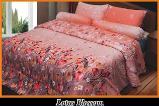 Sprei & BedCover Impression - Lotus Blossom