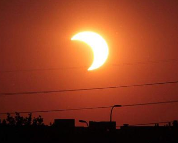 KECOH! Gerhana Matahari Satu Petanda Buruk, Netizen Diminta Berhati-Hati...Biar Betul??