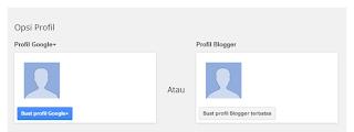 langkah awal membuat blog di blogger