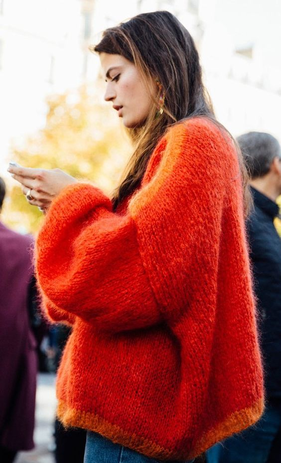 35 Style Tips On How To Wear Chunky Sweaters This Winter