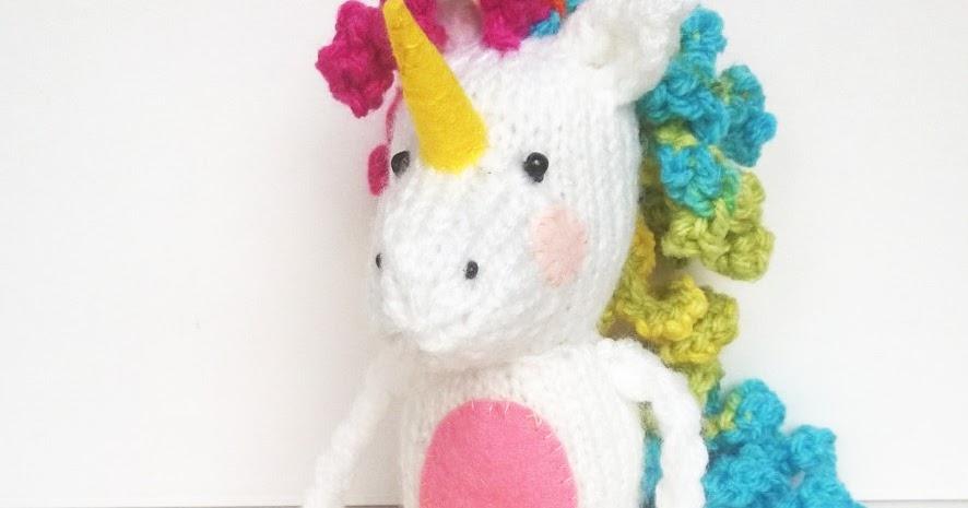 Unicorn Knitting Pattern Uk : Liana marcel keep calm and craft free lenny the