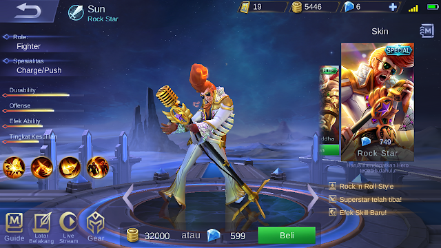 Harga Skin Special Mobile Legends Cuma 238 Diamond Kok Bisa 2
