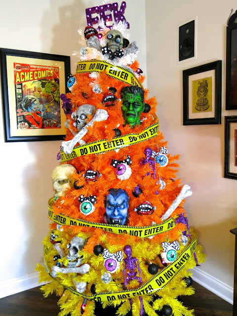 favorite being the candy corn tree obviously however next on my faves their rainbow tree what how perfect would that be in an art room right - Christmas Candy Corn