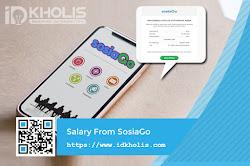 Gajian Pertama Kali dari Platform SosiaGo Influencer Marketing