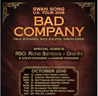 Bad Company To Do Swan Song Tour Of Britain But Don T