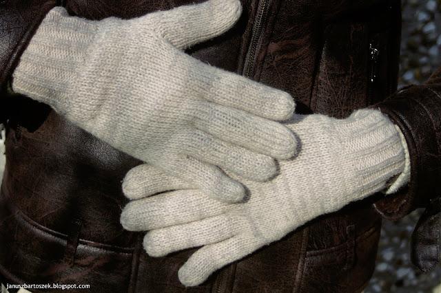 męskie rękawiczki reserved
