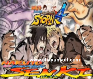 Download Naruto Senki Mod Storm 4 Full Burst