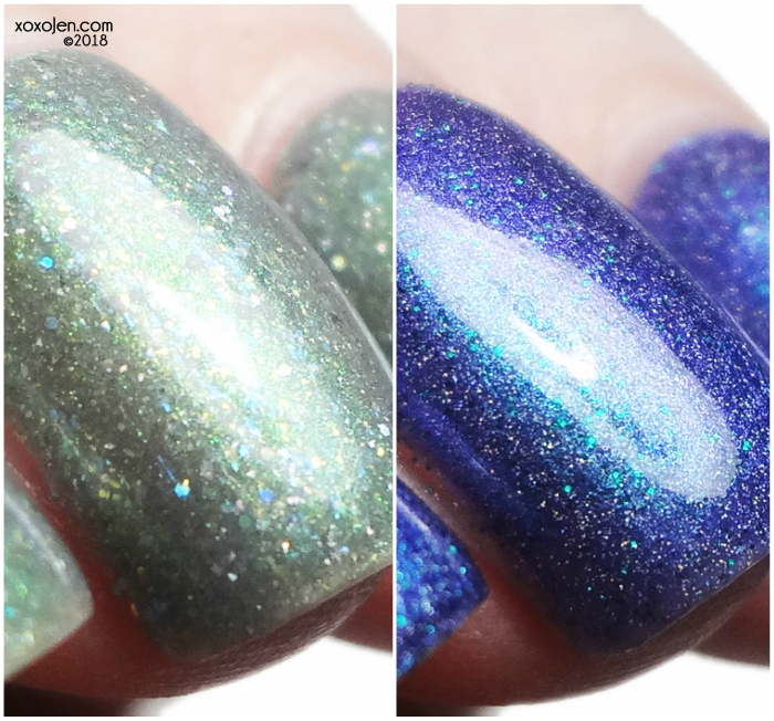 xoxoJen's swatch of Girly Bits January COTM