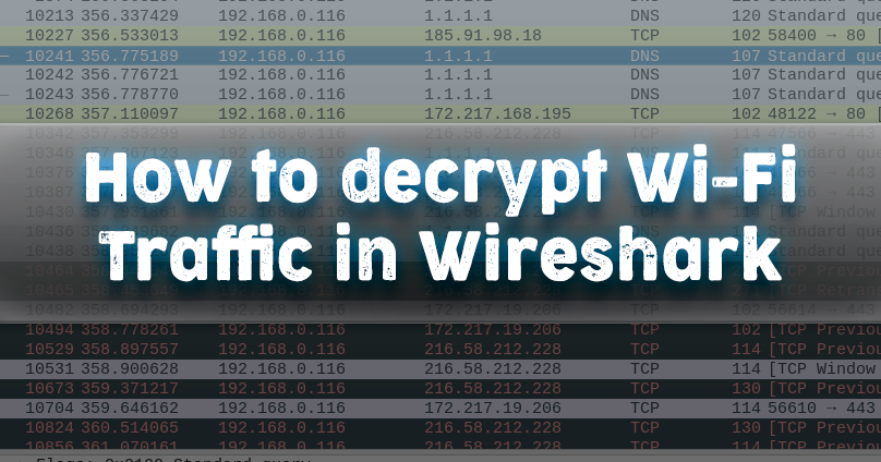 How to decrypt WiFi traffic in Wireshark - KaliTut