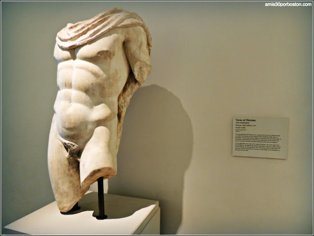 Legion of Honor: Torso de Hermes