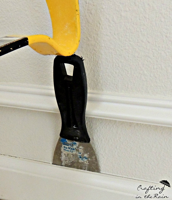 How to Remove Baseboards without Damage - Crafting in the Rain