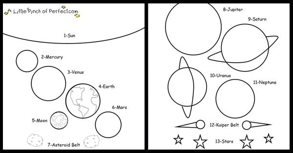 Solar System Coloring Pages for Kindergarten - Pics about ...
