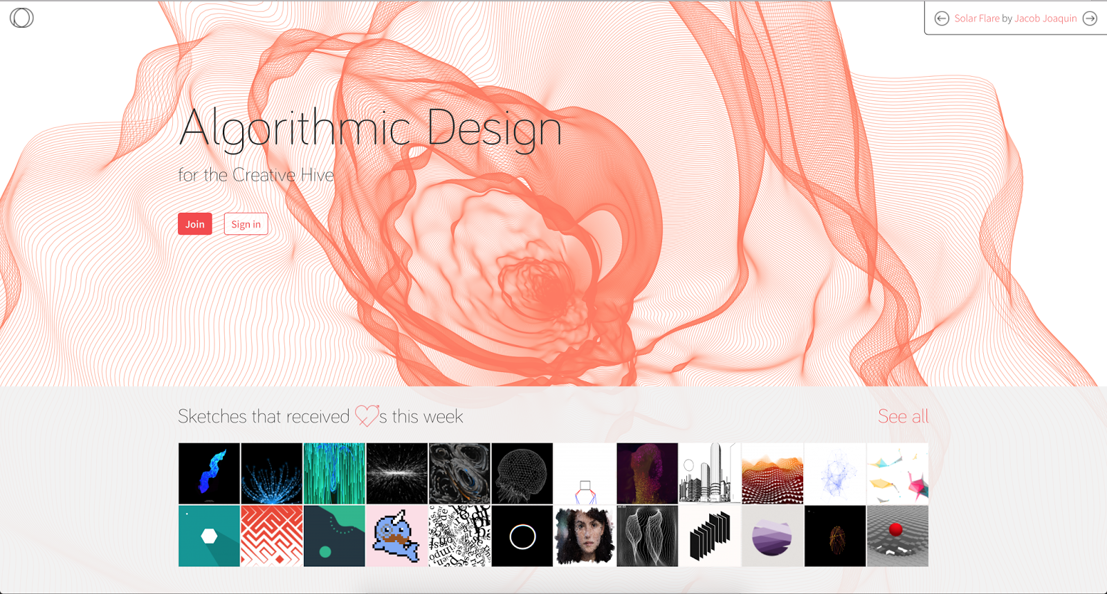 Make Your Own Algorithmic Art Openprocessing Org Coding Without Distractions