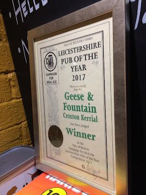 pub, CAMRA, award, real ale