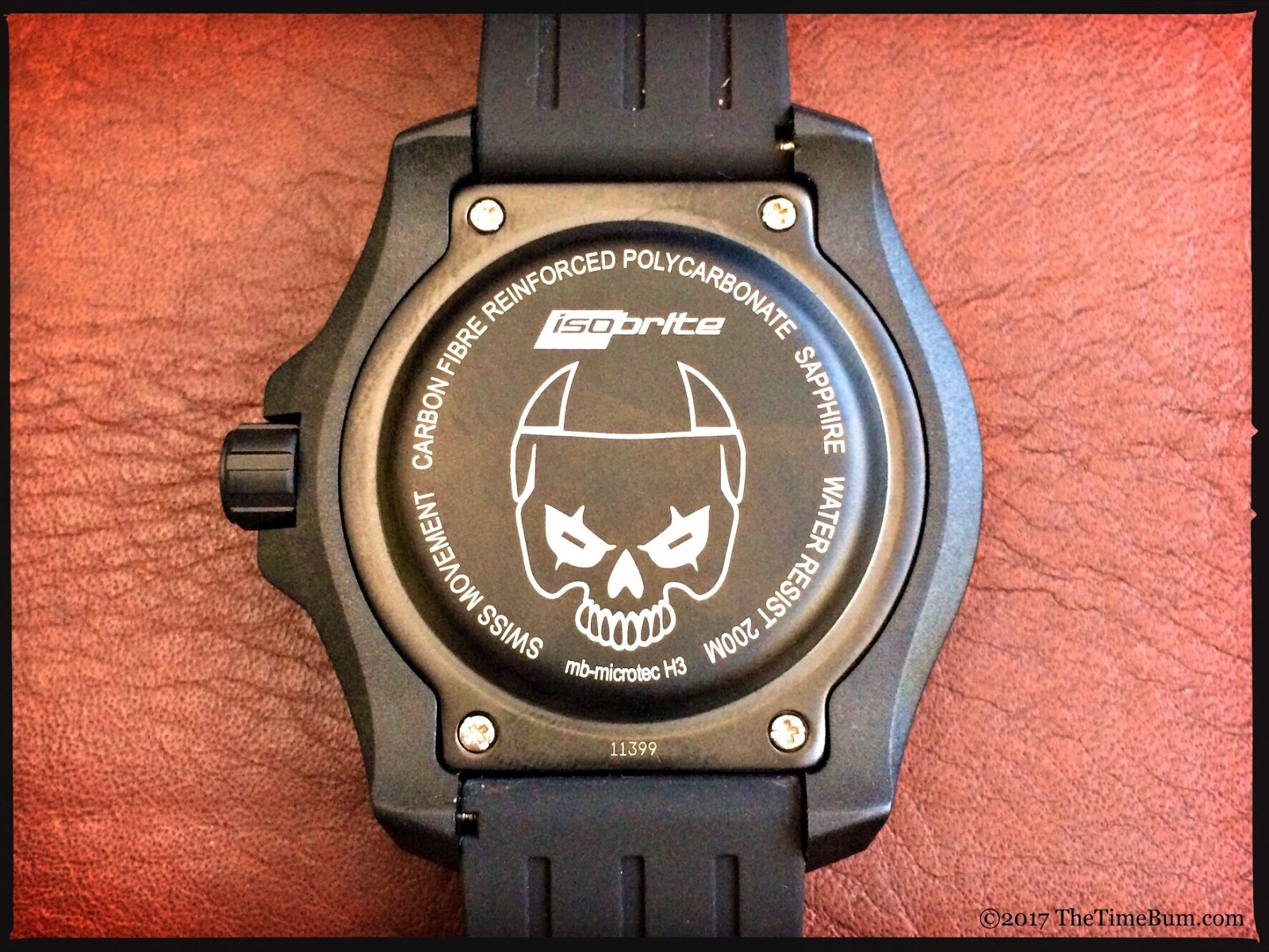 ArmourLite IsoBrite ISO3002 Night Enforcer Limited Edition case back